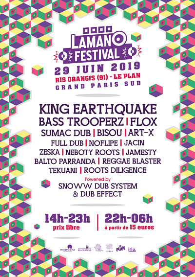 Lamano Festival | Ris-Orangis ( 91 )-King Earthquake