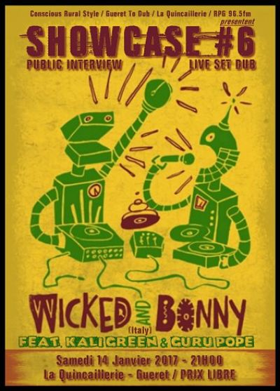 flyer-concert-Wicked & Bonny-concert-Showcase #6