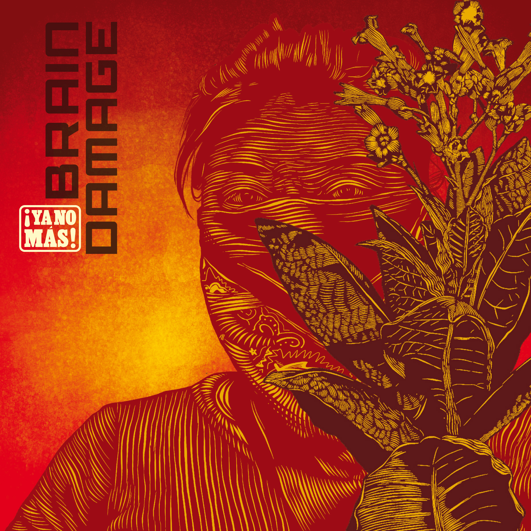 pochette-cover-artiste-Brain Damage-album-Invincible