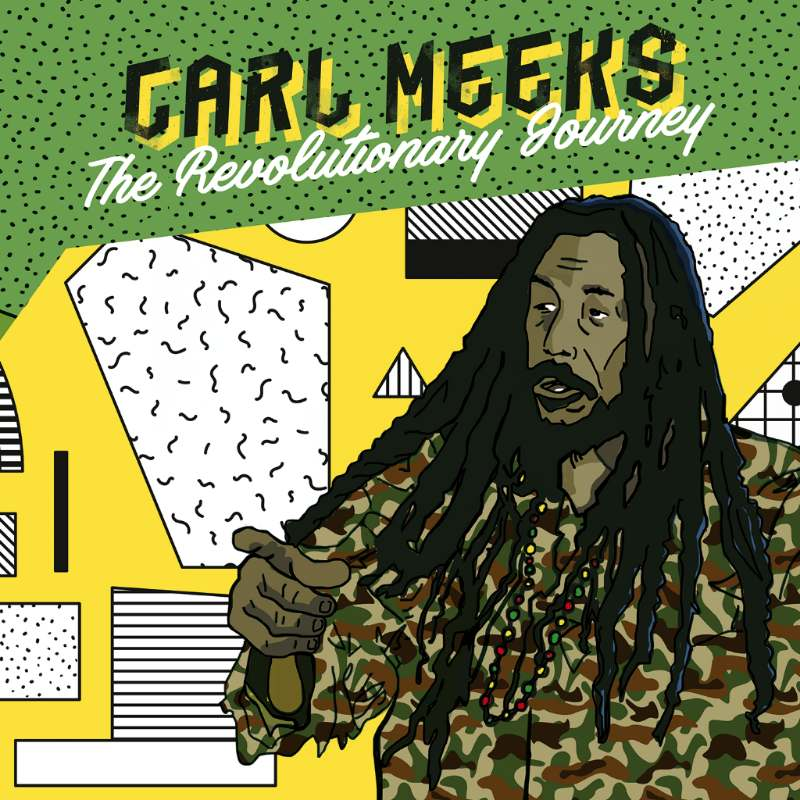 pochette-cover-artiste-Carl Meeks-album-Roots Party