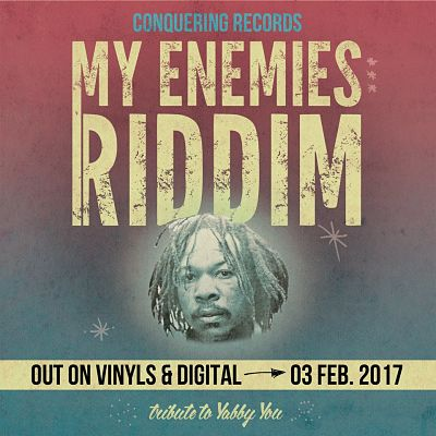 pochette-cover-artiste-Compils My Enemies Riddim-album-Roots Party