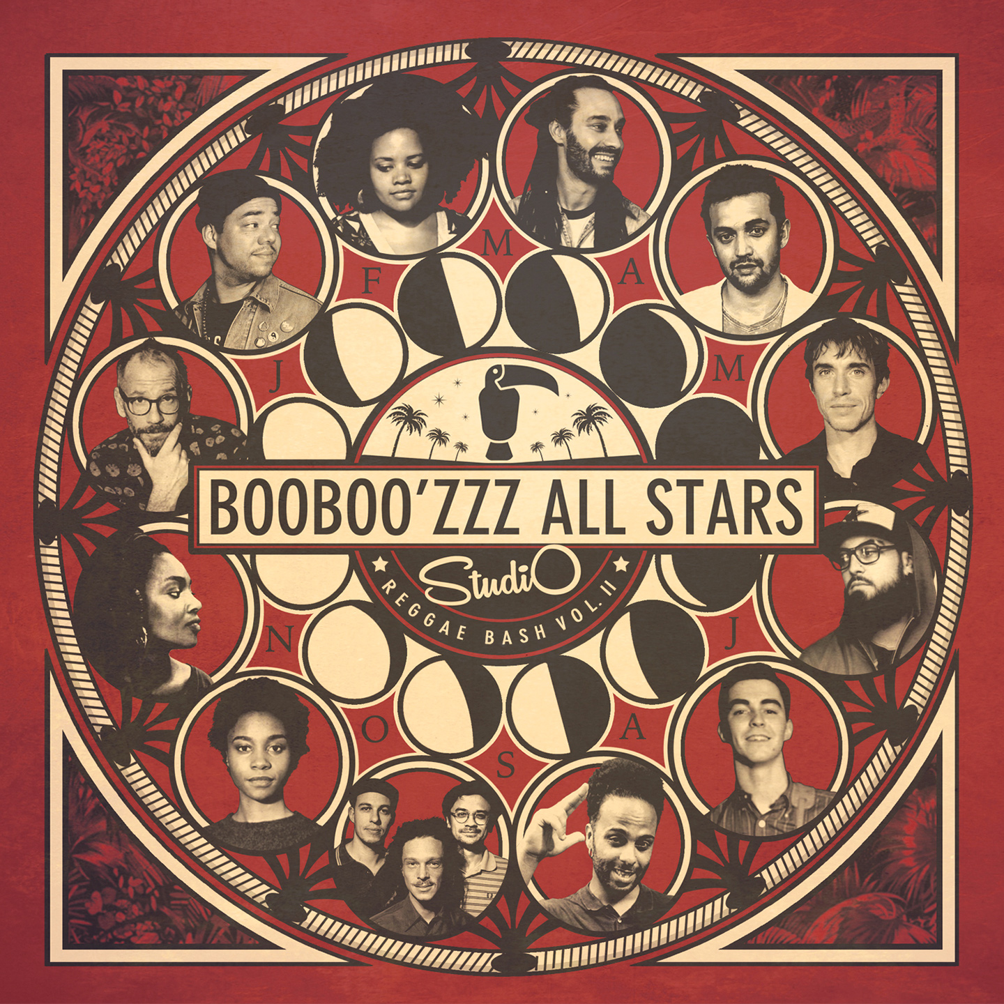 pochette-cover-artiste-Booboozzz All Stars-album-Studio Reggae Bash 2