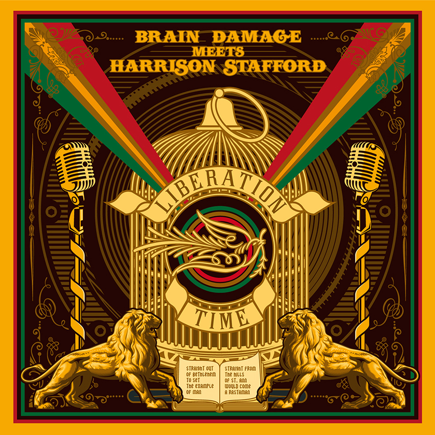pochette-cover-artiste-Brain Damage-album-Liberation Time