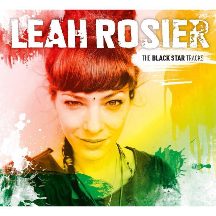 pochette-cover-artiste-Leah Rosier-album-Home