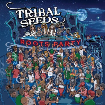 pochette-cover-artiste-Tribal Seeds-album-Roots Party