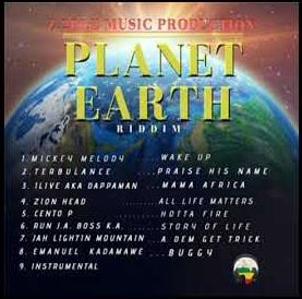 album-artiste-Zed2diZee-Planet Earth Riddim